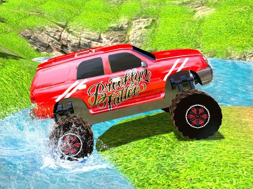 Play Offroad Grand Monster Truck Hill Drive Online